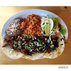 Taco Tuesday!! I didn't realize that their portions were so BIG at La Casita Gastown in Vancouver, BC