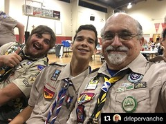 Troop 182 Court of Honor. #Repost @drlepervanche ・・・ Flying with Eagle Scouts. #troop182jax #eaglescouts