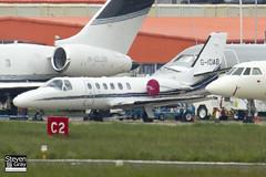 G-IDAB - 550-0917 - Private - Cessna 550B Citation Bravo - Luton - 120518 - Steven Gray - IMG_1701
