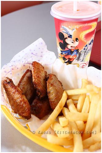 HK Disneyland - Chicken Wings