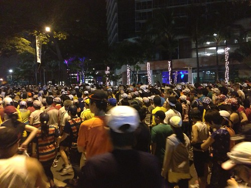 Honolulu Marathon 2012: At the start line
