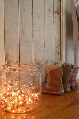 Ideas para decorar con luces de navidad - Bombillas decoradas ...