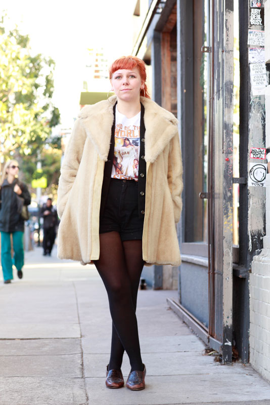 cuff street style, San Francisco, street fashion, Valencia Street, women