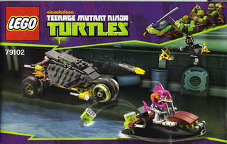 "LEGO Teenage Mutant Ninja Turtles :: ""Stealth Shell in Pursuit"" ; manual i (( 2013 ))"