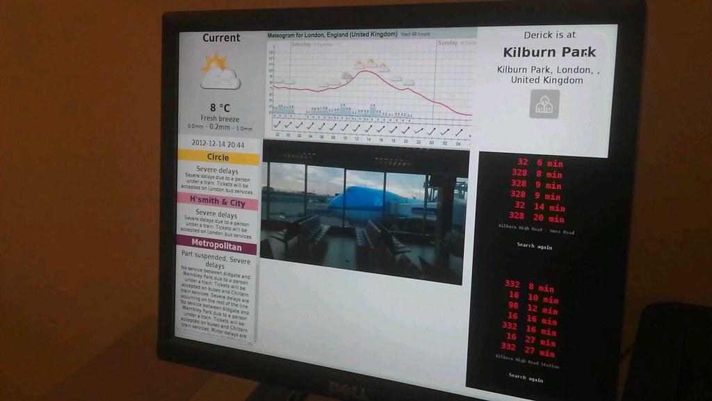241: Raspberry Pi powered status screen | Derick Rethans
