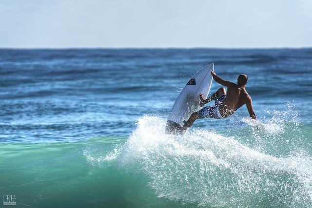 Surfing Burleigh #19