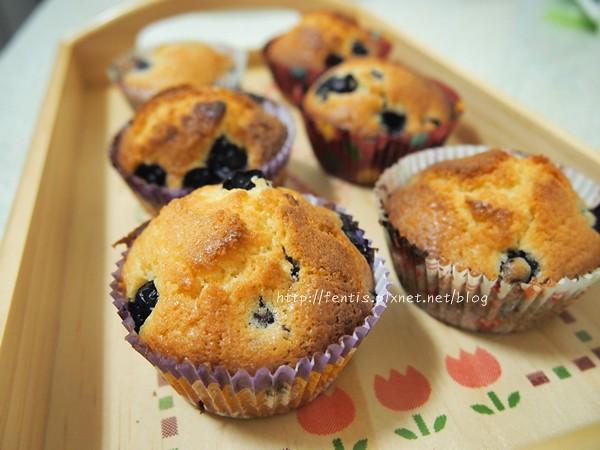 藍莓馬芬2
