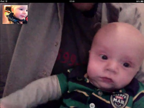Skype Play Date with Anders