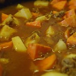 Turkey Curry with potatoes and sweet potatoes - 4