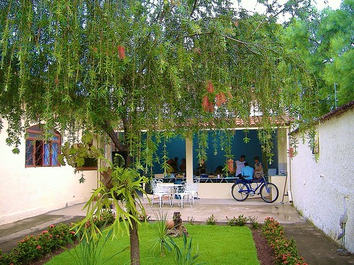 The garden at the AAVE Center in Goiânia