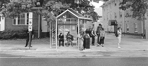 Bus Stop by Armadillo Commander via I {heart} Rhody