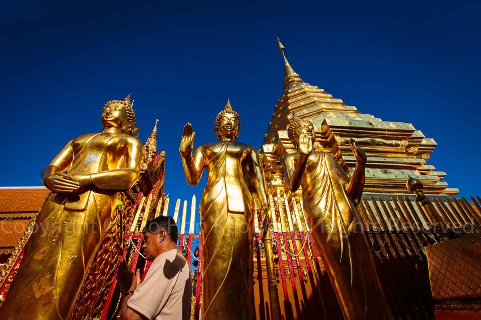 Wat Phrathat Doi Suthep @ Chiang Mai, Thailand
