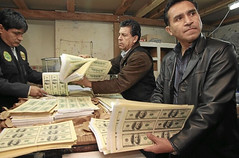 Peru counterfeiting operation