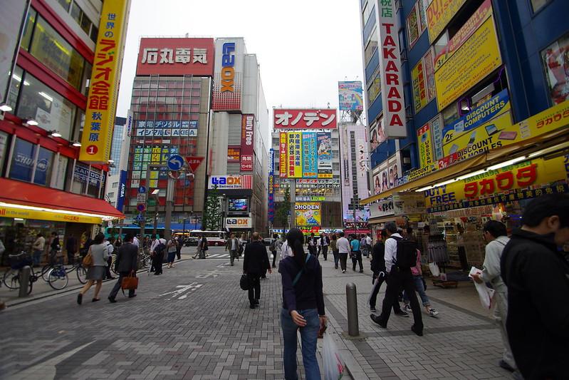 東京自由行(3) 淺草+秋葉原+天空樹