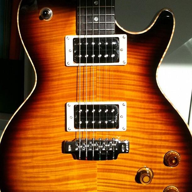Photo:Line6 JTV-59 Tobacco Sunburst #guitar By Pierre Journel
