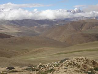 Estrada Nyalam até Lalung La Pass 5050m Tibete