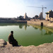 Sacred Lake at Karnak Temple, Luxor, Egypt