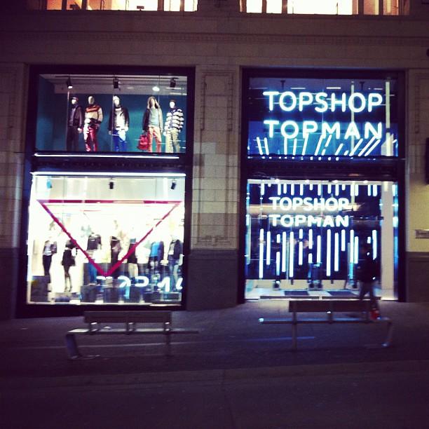 #topshop Vancouver