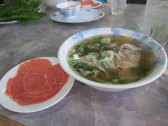 fish(0.0), noodle(1.0), meal(1.0), lunch(1.0), meat(1.0), pho(1.0), food(1.0), dish(1.0), soup(1.0), cuisine(1.0),