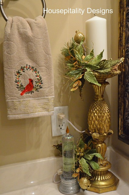 How To Decorate A Small Bathroom For Christmas: Twas The Day Before Christmas…