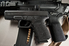custom grip stippling zero7one photography tags texture rifle handgun grip ar15 textured. Black Bedroom Furniture Sets. Home Design Ideas