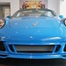 2011 Porsche Speedster Pure Blue 911 997 @porscheconnect 18