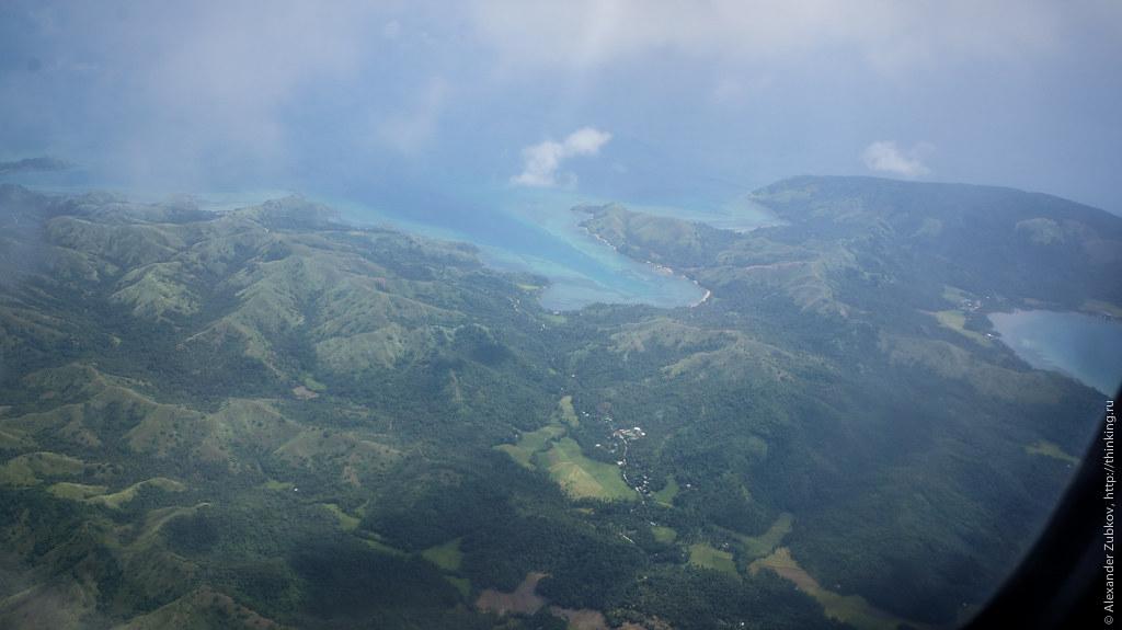 Над островом Боракай, Филиппины