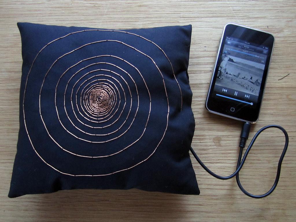Amplified Pillow Speaker