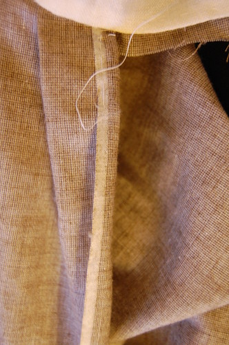 Making a robe a l'anglaise 21