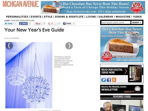 New Year's Eve on Michigan Avenue Magazine