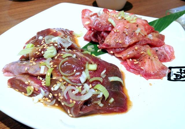Beef Tongue Shio and Harami
