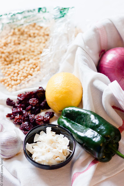 Pearl Couscous Salad with Olives | the Whinery by Elsa Brobbey