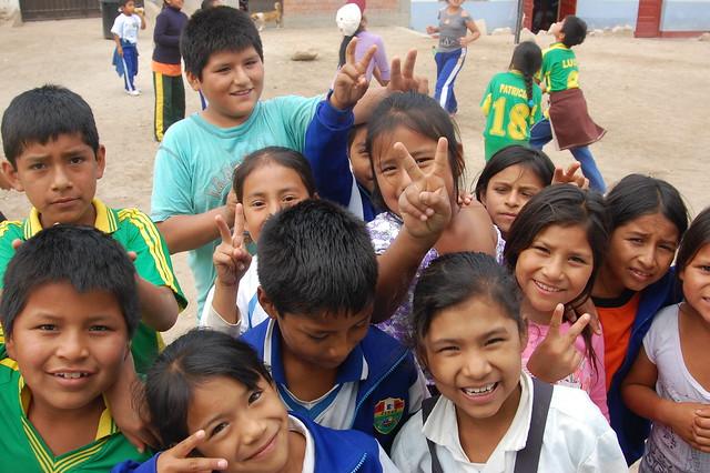 School Kids of Caral
