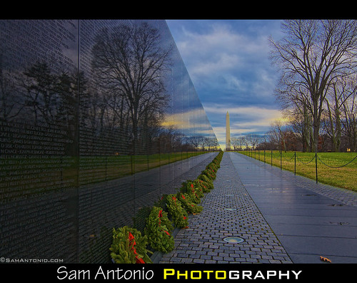 Reflecting on the Past, Remembering our Veterans, Honoring their Service by Sam Antonio Photography