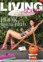 Living South Swimwear August 2012 Cover