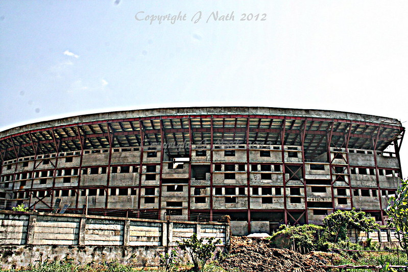 Guwahati cricket stadium construction live webcam