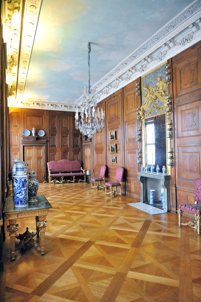 Charlottenburg Palace - Room with Parquetry Work