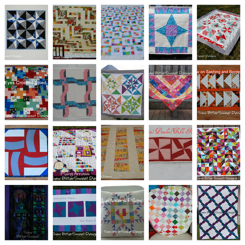 2012 Quilted Projects