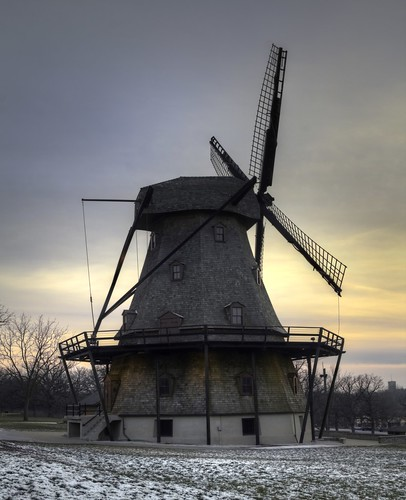 Fabyan Windmill in Geneva, Illinois