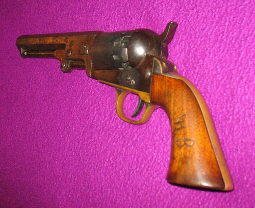 Manhattan Navy Revolver - Serial Number 2 (of 79,000)