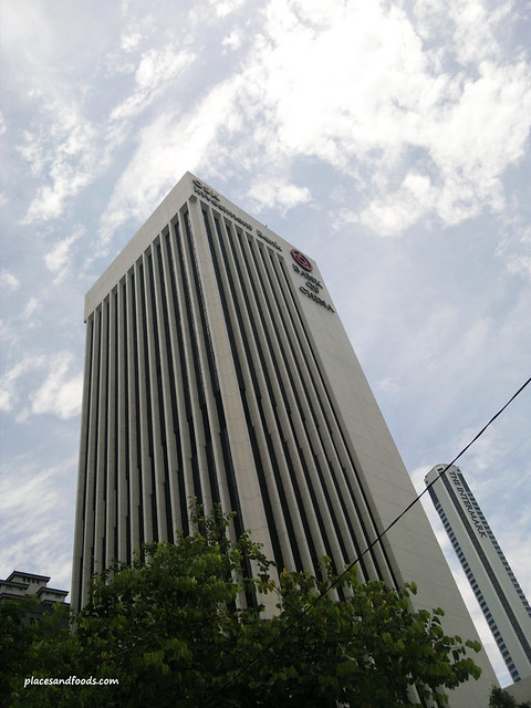 china visa at osk building