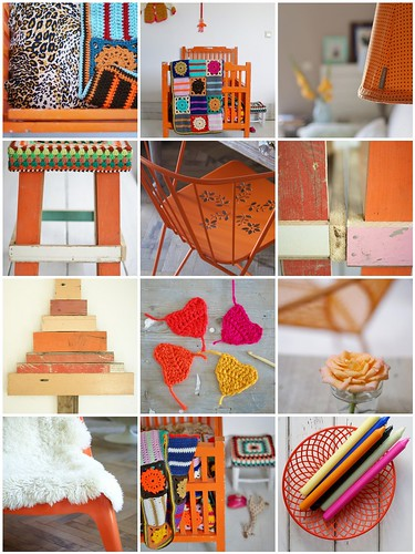 ode to orange by wood & wool stool