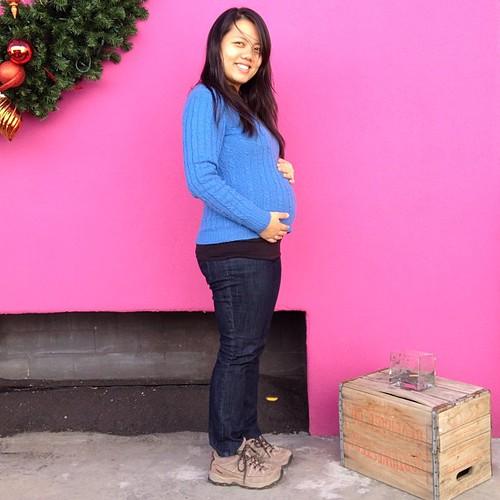 26 weeks! #babymoon #babybumpin #nofilter
