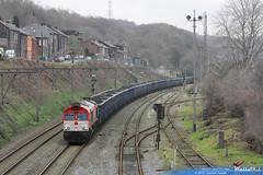 de 6314 crossrail benelux ligne 125 engis 2 janvier 2013
