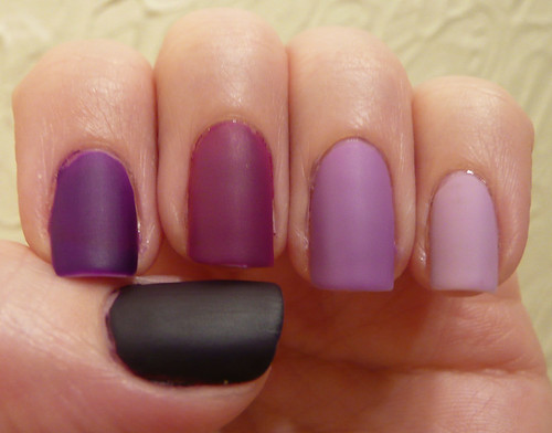 purple ombre matte 1