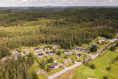 sverige swe västragötaland klev flygfoto mårdaklev