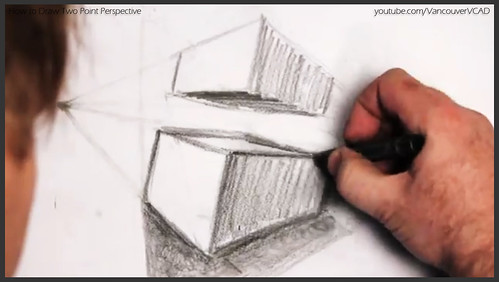 2D design how to draw in two point perspective 022