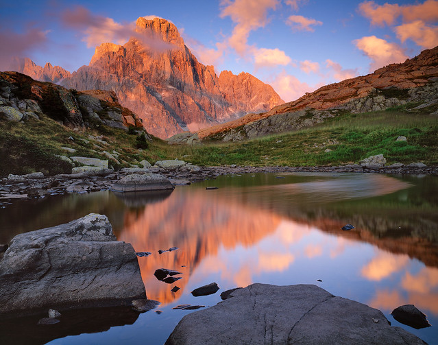 Dolomites in the Italian Alps by CC user 23209605@N00 on Flickr