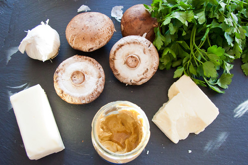 Mushroom Sliders Ingredients
