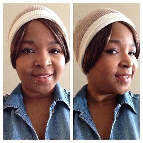 Kept it simple today #selfie #beautyjunkie #beautyblogger #smashbox #revlon #maybelline #makeupjunkie #ilovemakeup
